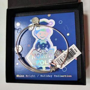 Alex and Ani ELF North Pole Holiday Bracelet NEW